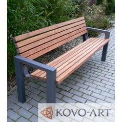 Kovová lavička Doni