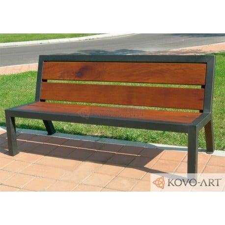 Lavička Aura - kovové lavičky