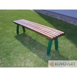 Litinová lavička Monag