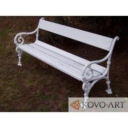 Litinová lavička Schonbrunn I