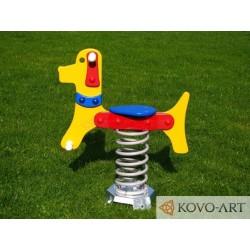 Pružinové houpadlo pes Zdarma Doprava