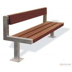 Parková lavička Ypsilon - kovové lavičky