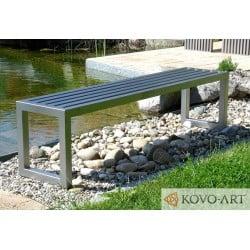 Bezúdržbová lavička Hario- ocelové lavičky