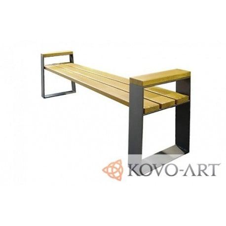 Lavičky kovové Setra - venkovní lavičky