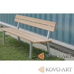 Parkové lavičky Horizonte - kovové lavičky