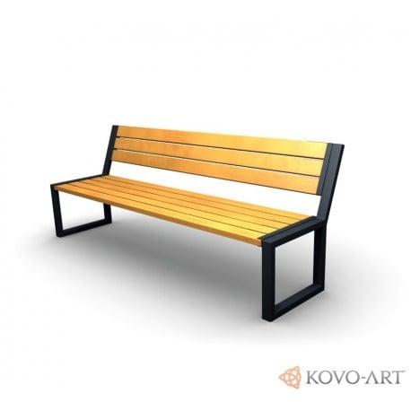 Parkové lavičky Agora