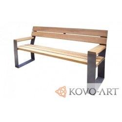 Lavička Woody - lavičky kovové