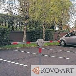Dvouramenná parkovací zábrana Duo