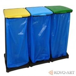 Držák 3 odpadkových pytlů