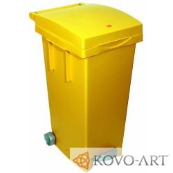 Mobilní plastový odpadkový kontejner