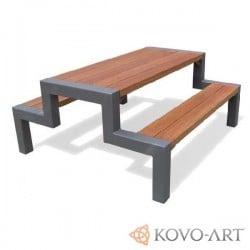 Lavice se stolem Alba - lavičky se stolem