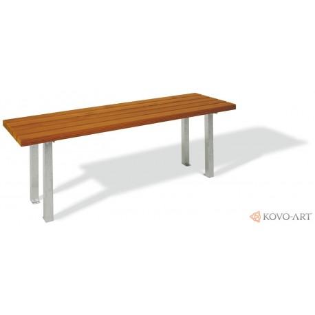 Venkovní parkový stůl Lozano