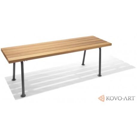 Parkový kovový stůl Madrid