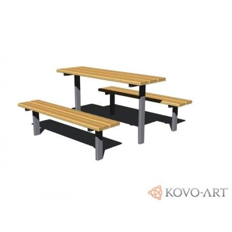 Lavičky se stolem set Standart
