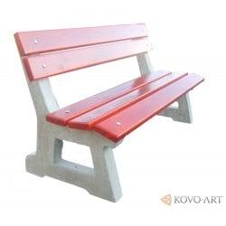 Betonová venkovní lavička Comfort