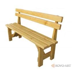 Dřevěná lavička Alena