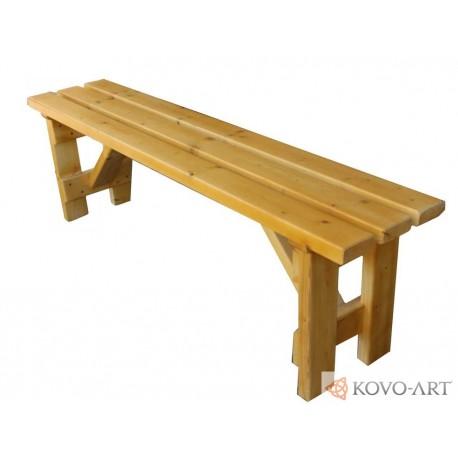 Dřevěná lavička Jana