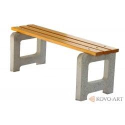 Lavička betonová bez opěradla  Max