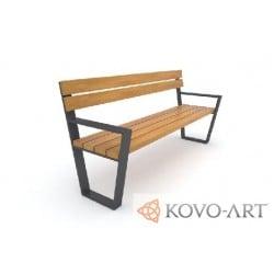 Parková lavička Bordo