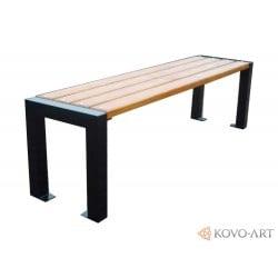 Kovová lavička CENTRUM 1