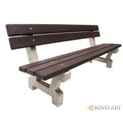 Betonová lavička Mamut