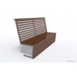 Designová lavička Siena