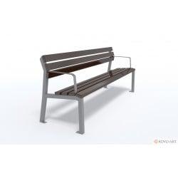 Parková lavička Marco s područkou