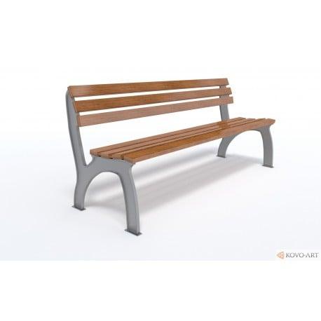 Litinová lavička Arco