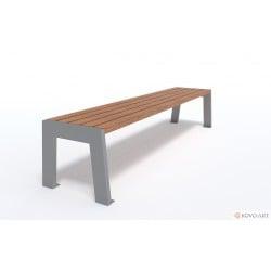 Parková lavička Luco bez opěradla