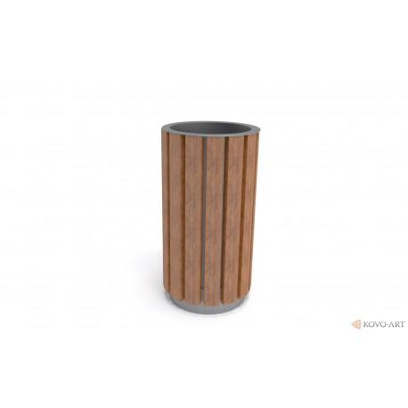 Odpadkový koš kulatý Luco