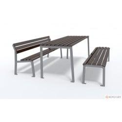 Souprava laviček a stolu Marco