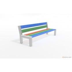 Dětská zahradní lavička Zora