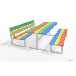 Dětské posezení lavičky se stolem Rimini