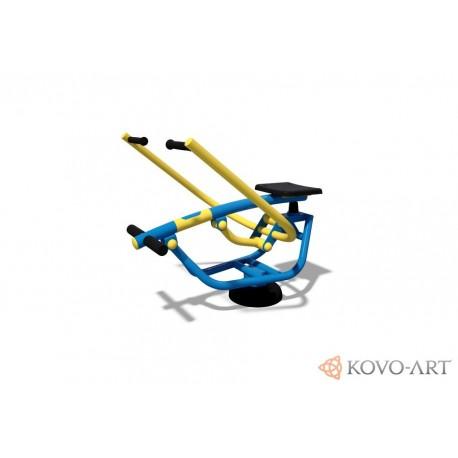 KovoFit Venkovní posilovací stroj Veslař