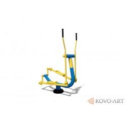 KovoFit Venkovní posilovací fitness stroj Běžec/Orbitrek