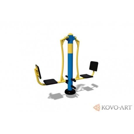 KovoFit Venkovní fitness stroj Odrážedlo