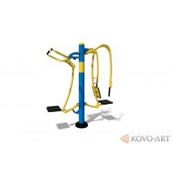 KovoFit Venkovní posilovací fitness stroj 1