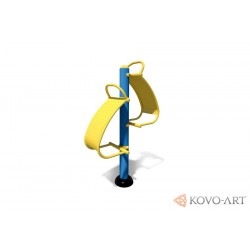 KovoFit posilovač břišních svalů
