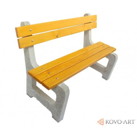 Betonová lavička Elegance - Hladký beton lavičky
