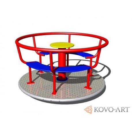 Kolotoč na sezení KO140K (průměr 1,4 m) - celokovový
