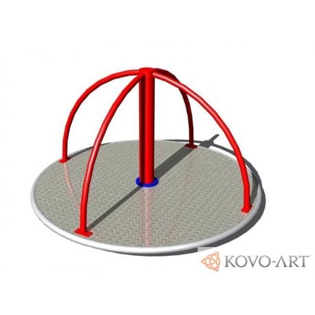 Kolotoč na stání KO142K (průměr 1,4 m) - celokovový