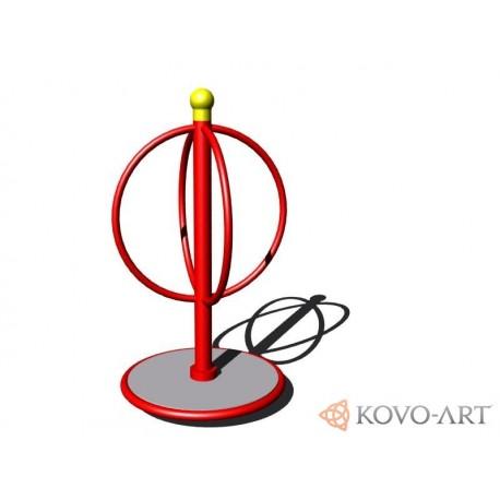 Kolotoč na stání KO072K - celokovový