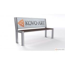 Reklamní lavička Trend