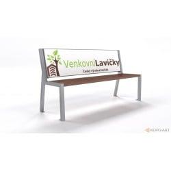 Reklamní lavička Verona