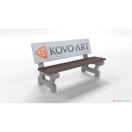 Reklamní lavička Klasik