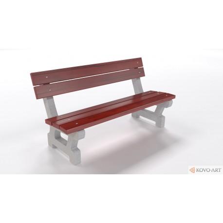 Betonová lavička Golem