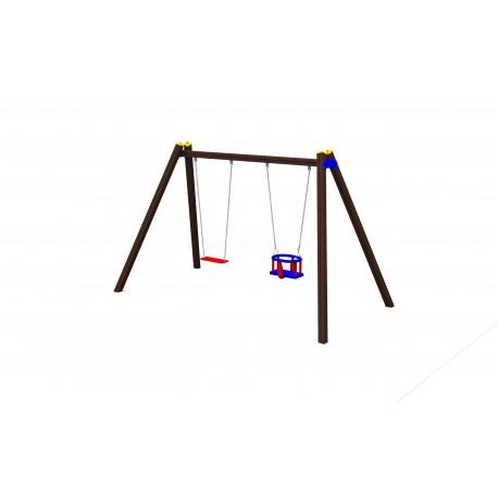 Řetězová dvouhoupačka kombi