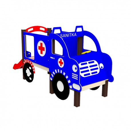 Ambulance se skluzavkou