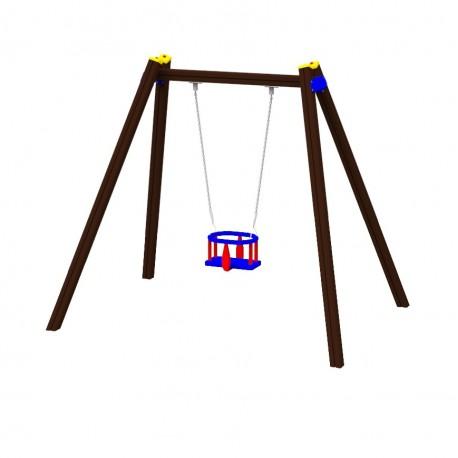 Řetězová dětská houpačka