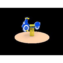 Pružinové houpadlo Motorka